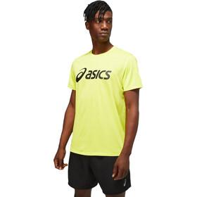 asics Core Maglietta a Maniche Corte Uomo, giallo